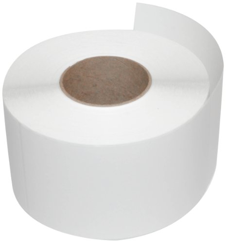 Compulabel 620875 Thermal Transfer Shipping Labels, 4 inch x 8 inch, White, Permanent Adhesive, Perforations Between Labels,750 Per Roll, 4 Rolls ()