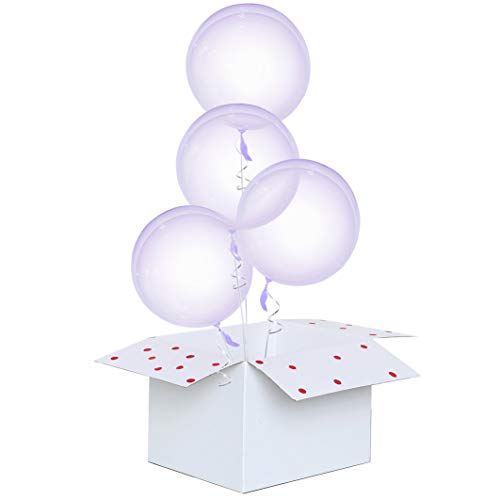 Crystal Clear Bubble Balloon 4 Count 18