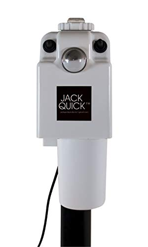 Quick Products White JQ-3500W Electric Tongue Jack
