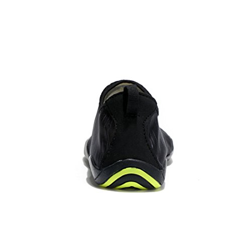 Laiwodun Unisex Zapatos de Agua de Nataci¨®n Calzado de Agua Calzado de Surf Calzado de Playa. negro
