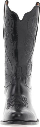Tony Lama Boots Menns 1009 Boot Svart Geit