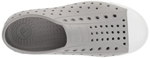 Native Kids Jefferson Junior Water Proof Shoes, Pigeon Grey/Shell White, 2 Medium US Little Kid by Native Shoes (Image #8)