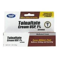Tolnaftate Cream USP, 1% Antifungal ''Compare to the active ingredient of Tinactin®. For Feet (pack Of 48) 1 oz Each