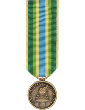 (ML-M1044, Armed Force Service Medal (Resized) Mini Medal MEDALS)