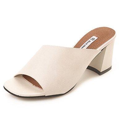 RainbowElk Women's Sandals Summer Comfort PU Outdoor Beige Black White , beige , us5.5 / eu36 / uk3.5 / - Women For Carvela