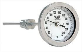 Palmer Wahl - All Star Bimetal Thermometers 5AJ All Angle Adjustable Union 48 Stem