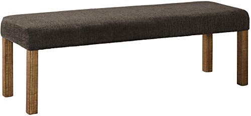 (Ashley Furniture Signature Design - Tamilo Dining Room Bench - Rustic Style - Two-tone)