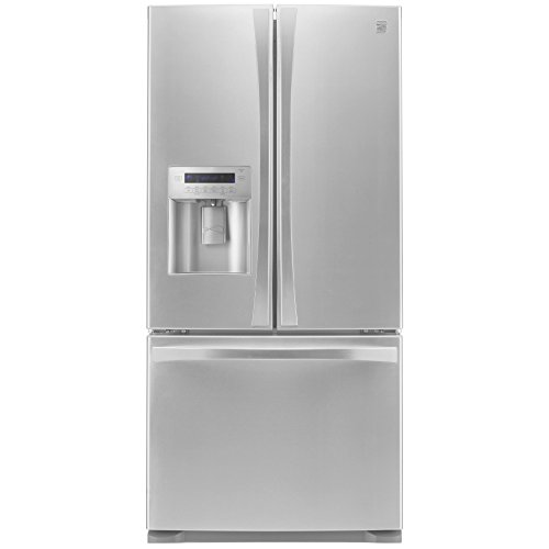 Kenmore Elite 73133 24.2 cu. ft. French Door Bottom Freez...