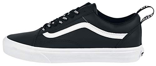 bianco Vans Webbing Skool Old Nero Otw Sneaker YUYR6q