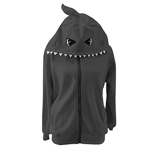 Lifeye Adult Shark Hoodie Animal Cosplay Costume