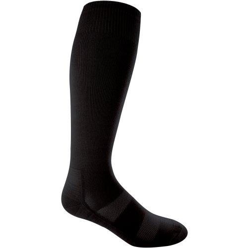 Louisville Slugger Baseball Sock 2 Pack - (Black, Large) by Louisville Slugger