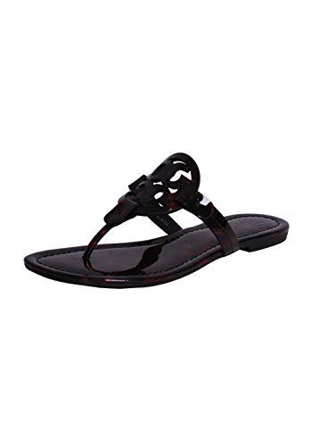 47685ad32 Jual Tory Burch Miller Sandal in Tortoise Shell - Flip-Flops ...