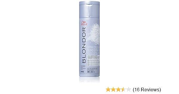 Amazoncom Wella Blondor Extra Cool Blonde Hair Dye 52 Ounce