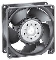 ebm-papst 3214JN Fan; DC; Tubeaxial; 24 V; 77 CFM; 8 W; 51 dBA; Ball; Leads; 92 x 92 x 38 mm
