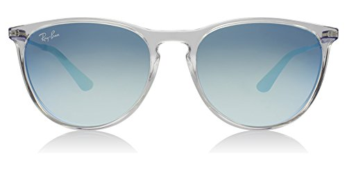 Ray-Ban Girls' RJ9060S 7029B7 Non-Polarized Sunglasses, Transparent/Blue, - Girls Rayban
