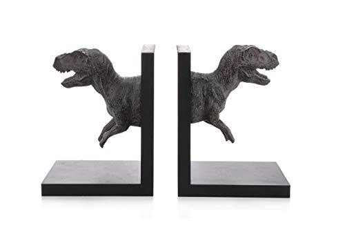 Dinosaur Bookends - Pair of T-Rex Book -
