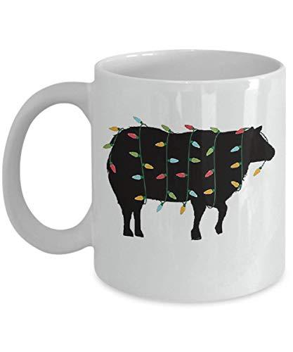 Sheep Animal T-shirt Funny (Christmas Lights Sheep T-Shirt Zoo Animal Lover Xmas Gift Coffee Mug, Funny, Cup, Tea, Gift For Christmas, Father's day, Xmas, Dad, Anniversary, Mothe)