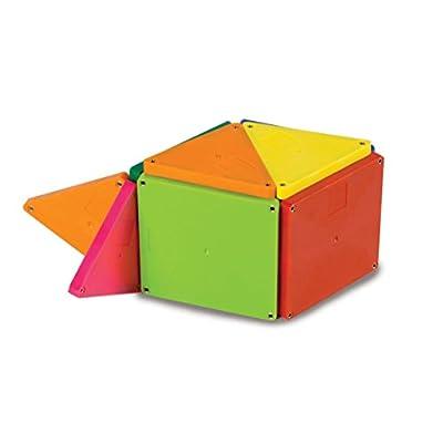Magna-Tiles 02300 Solid Colors 100 Piece Set: Toys & Games