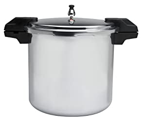 Mirro 92122A Polished Aluminium Pressure Canner