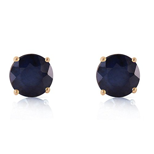 ALARRI 3.3 Carat 14K Solid Gold Once Upon A Love Sapphire Earrings by ALARRI (Image #1)