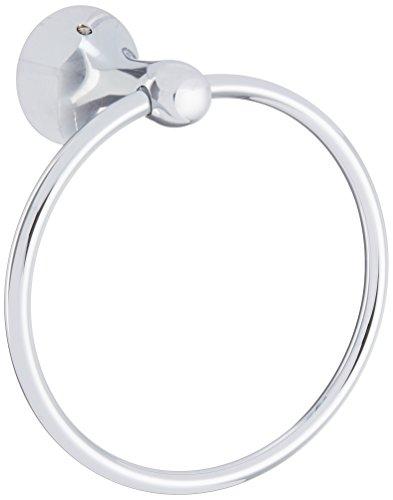 (Cifial 444.440.625 Brookhaven Barrel Towel Ring, Polished Chrome)