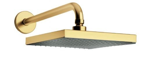 La Toscana 89PW750 Lady Square Shower Head, Brushed Nickel by La Toscana by La Toscana