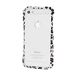 TY-Leopard Pequeña Cintura Patrón capítulo de parachoques para el iPhone 5/5S