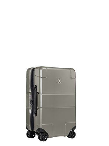 d41322d32 Victorinox Lexicon 21inch Hardside Frequent Flyer 8-Wheel Spinner Carry-on  Titanium Review