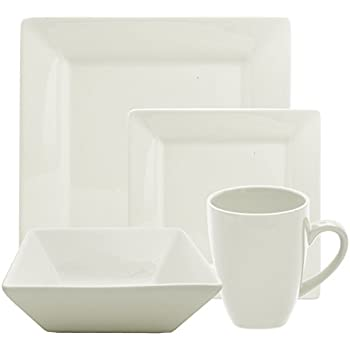 Amazon Com 10 Strawberry Street Square 42 Piece Dinnerware Set