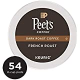 K-Cup Pack Peet's Coffee French Roast K-Cup Pack 54 count single serve coffee cups
