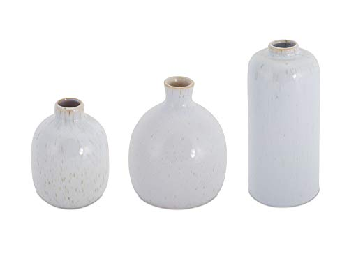 (Melrose Mini Vase Porcelain Set of 3)