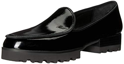 Donald J Pliner Women's Elen Loafer, Black Patent, Size 7.5