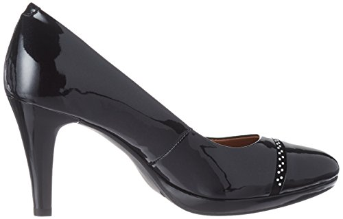 Caprice Women's 22412 Closed-Toe Pumps Black (Black 412) hkUaU4t7Z
