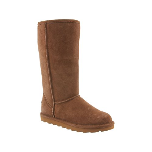 BEARPAW Womens Tall Mid-Calf Suede Boots - NeverWet Stain Liquid Repellent -Elle by
