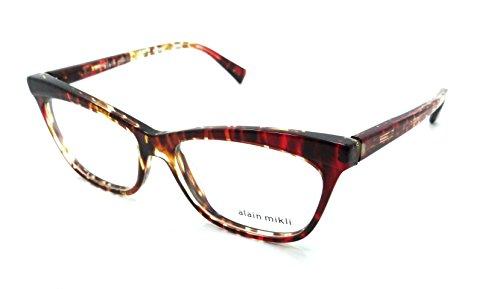 6a01c1fa626 Alain Mikli Rx Eyeglasses Frames A03059 002 54-15-140 Havana Gradient Red  Italy