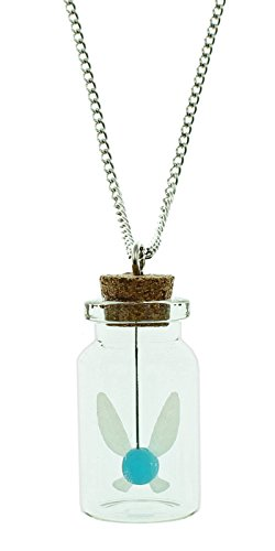 Legend Zelda Navi Bottle Necklace