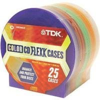 TDK cds-mc25 Two CD Flexx Cases