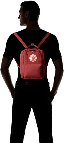 "Fjallraven - Kanken Mini Classic Backpack for Everyday 4 <p>Mini version of Kanken Classic. Long shoulder straps that can be adjusted to fit both small and large backs. Two side pockets and a zippered pocket on the front. Reflective logo. ICONIC: Meet the mini version of our classic Kanken. Same design, smaller size. Stash everyday essentials in the main zippered compartment, front zippered pocket, and two open side pockets. PRACTICAL: Meet the material: Vinylon F. It has a weird name but it's dirt-resistant, water-resistant, and wipes clean. FUNCTIONAL: Two-way zipper with rain flap for protection. Long adjustable shoulder straps for adults and kids. Dual top snap handles for quick carry. Reflective logo. ROOMY: 7 L of storage space for everything you need and some things you don't. Measures 11.4"" (29 cm) x 7.9"" (20 cm) x 5.1"" (13 cm). Weighs 0.5 lb. HERITAGE: Durable, timeless, functional. Since 1960.</p>"