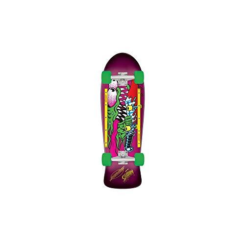 Santa Cruz Slasher Cruzer 80s Complete Skateboard,10.1in x 31.13in - Slasher Deck