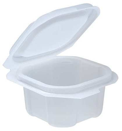 Portion Cups w/Lid, 2 oz., PK900
