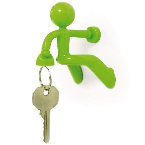 Peleg Design PE676/Key Pete Strong Magnetic Key Holder Plastic Green 8/x 7/x 6/cm
