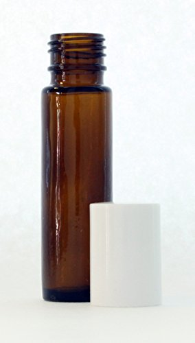 Amber Glass Essential Roll Bottles