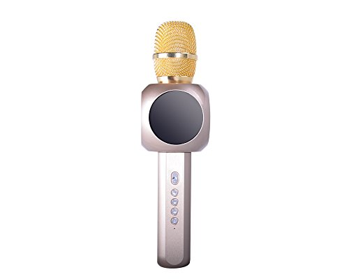 Buy Bargain Wireless Microphone Karaoke, Hysada Portable Bluetooth Handheld Speaker,H6 Karaoke Stere...