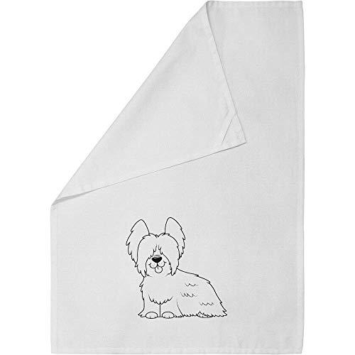 (Azeeda 'Skye Terrier' Cotton Tea Towel / Dish Cloth (TW00004998))
