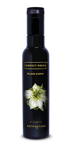 Perfect Press Organic Cold Pressed Black Seed Oil - Black Cumin Seed Oil - Benefits Immune System, Improves Digestion, Supports Joint Health - Vegan, Gluten Free, Non-GMO Oil of Black Seed, 250ml