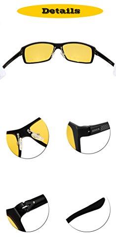 8337f52fd1 SOXICK Anti-Glare Driving Glasses - HD Polarized Lenses Promote Improved Night  Vision