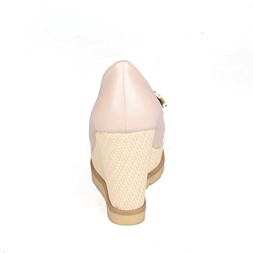 pink Donna Rosa Col 35 Sconosciuto Mms02706 Scarpe 1to9 Tacco Eu Sc71WZ1