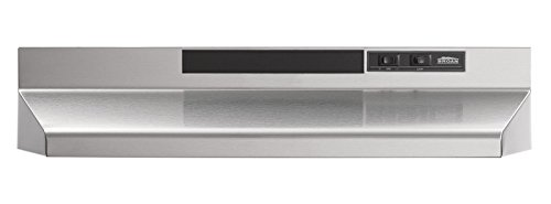 Broan 403004 ADA Capable Under-Cabinet Range Hood, 30-Inch, Stainless Steel