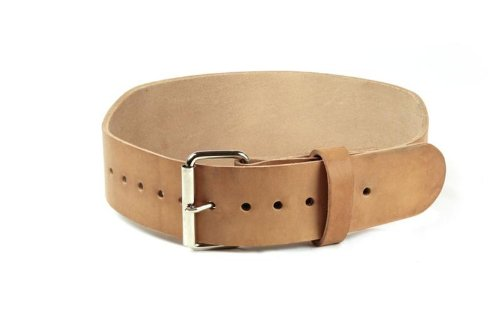 IRON COMPANY 4 Leather Weightlifting Belt