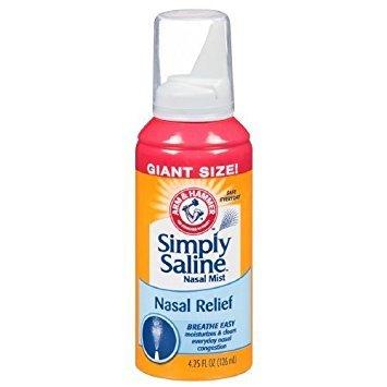 (ARM & Hammer Simply Saline Nasal Relief - 4.25 Oz. - 6 Pk.)